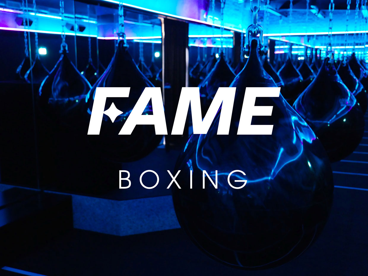 FAME Boxing Header